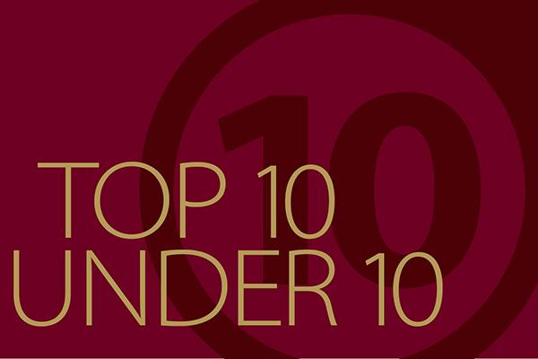 2017 Top 10 Under 10