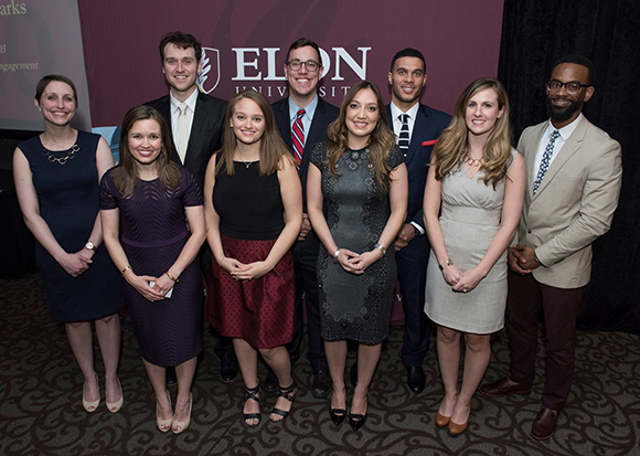 Three School of Communications graduates honored at Top 10 awards