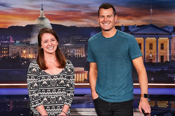 Katie Maraghy '15 and Nick Dyer '11 both have roles with the popular late-night program.